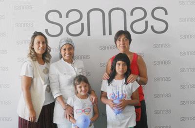 Sannas comprometida con la salud oral de los niños de acogida en Navarra