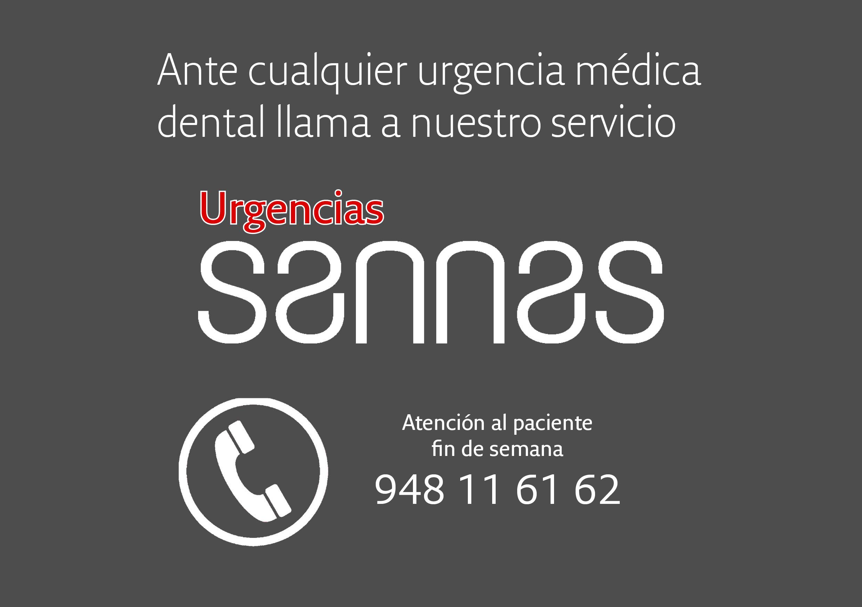 Teléfono de urgencias Sannas