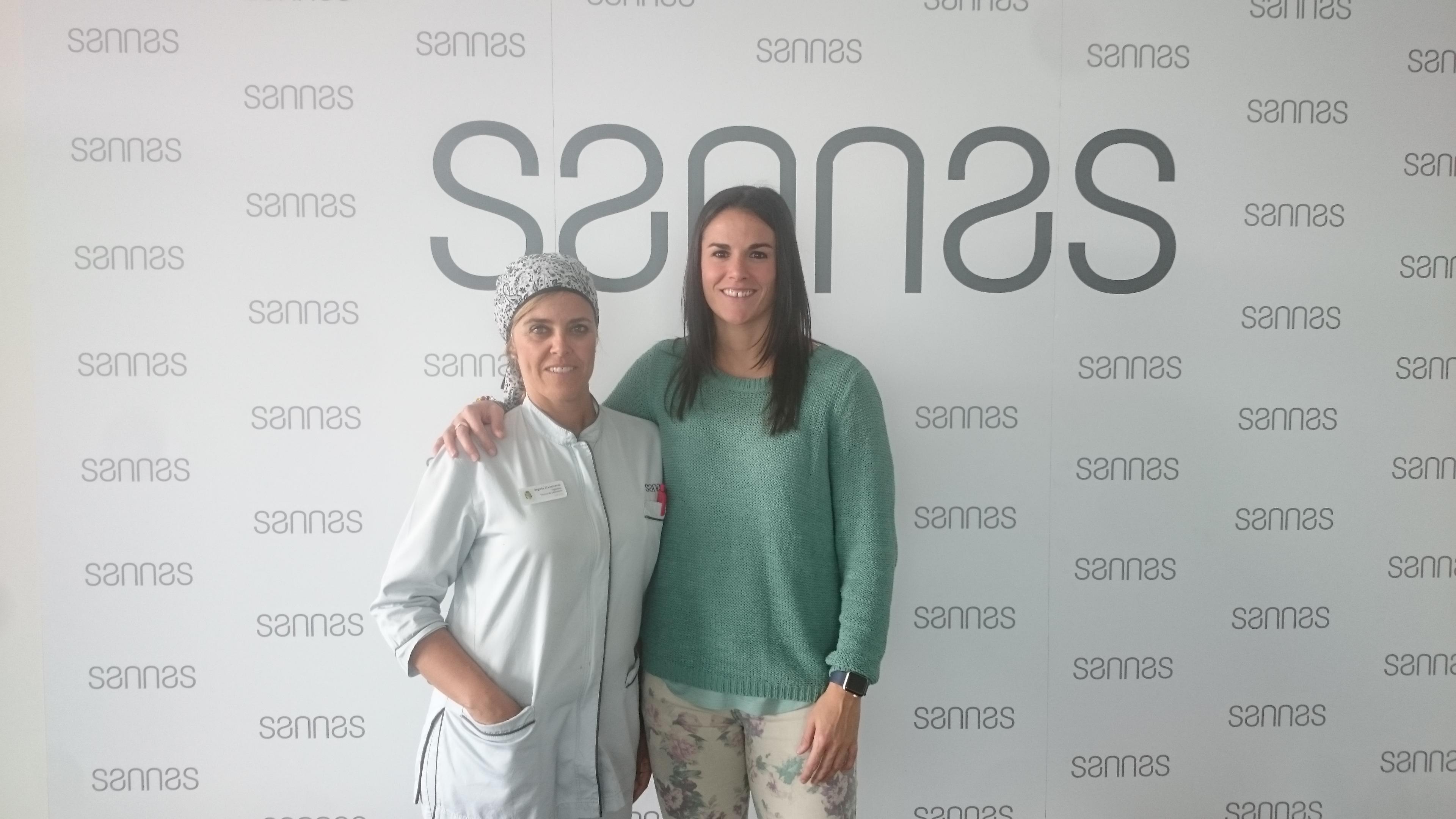 Visita deportiva en Sannas