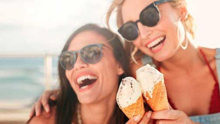 La salud oral en verano