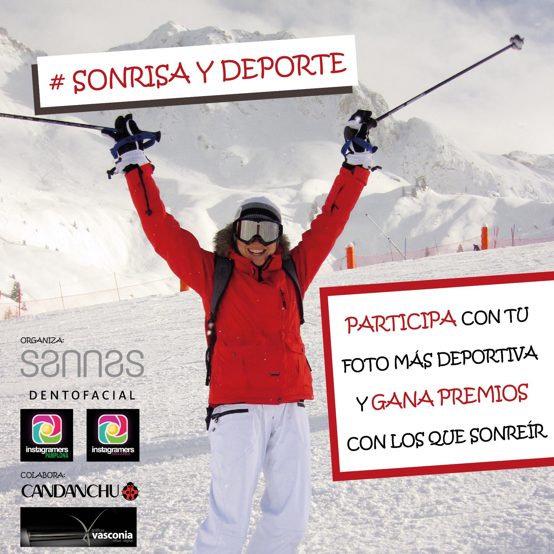 Nuevo concurso en instagram #sonrisaydeporte
