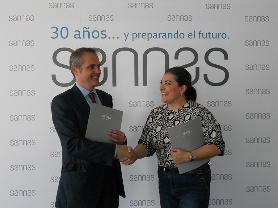 El Grupo Sannas y la Federación Navarra de Tenis se unen para promocionar el deporte y la salud