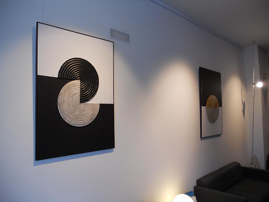 «Simetrías dispares» de Ramón Berraondo, nueva exposición en Sannas