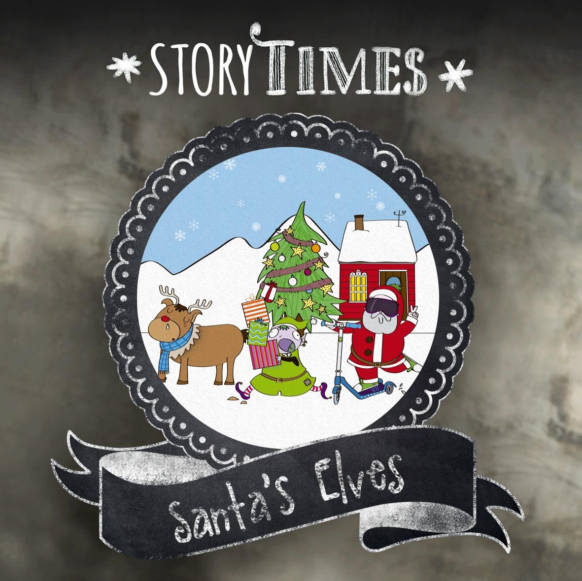 Cuentacuentos navideño en Sannas