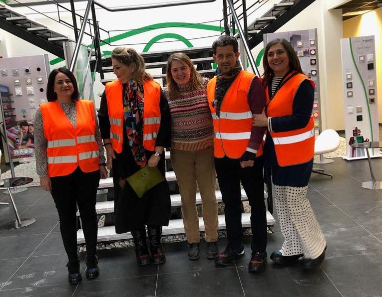 Grupo Sannas visita Schneider Electric