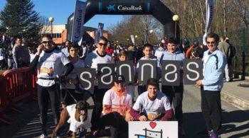 La fiesta del running contra el cáncer infantil se llena de valientes