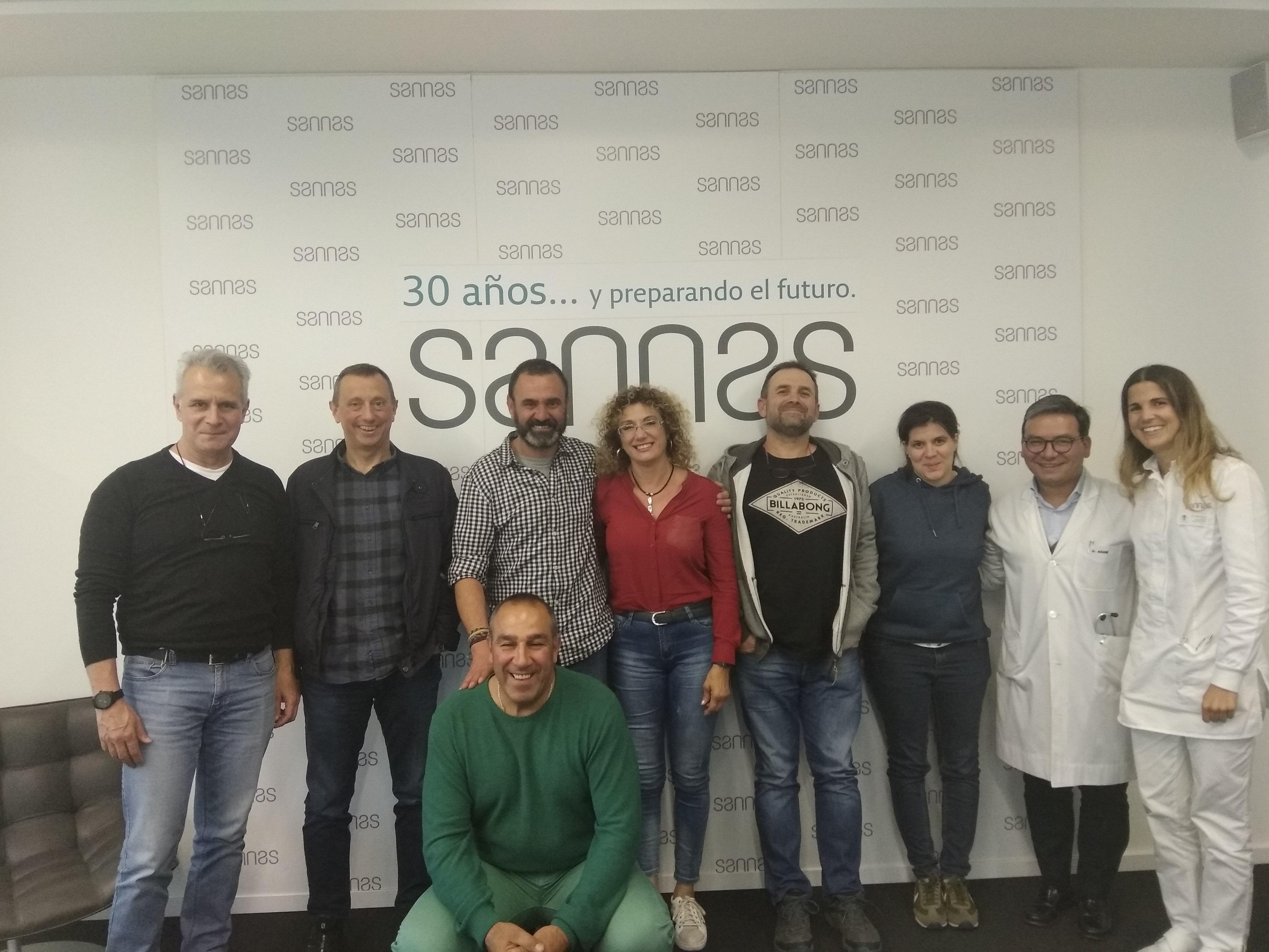 La Federación Navarra de Actividades Subacuáticas visita Grupo Sannas