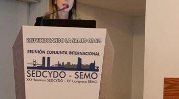 La Dra. Orradre premiada en la XXX Reunión Anual de la SEDCYDO